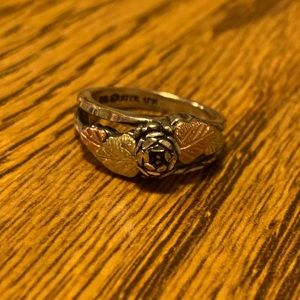 Black Hills Gold and Silver Ring